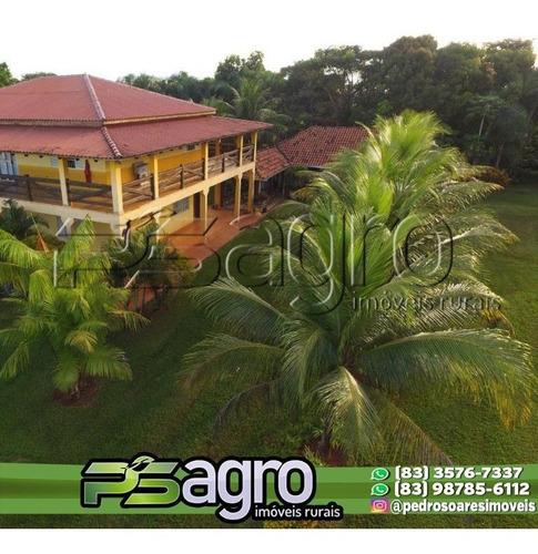 Imagem 1 de 9 de Fazenda À Venda, 320000 M² Por R$ 700.000.000,00 - Zona Rural - Brasnorte/mt - Fa0229
