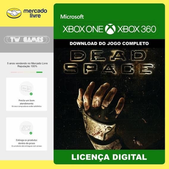 Dead Space 1 Digital Retrocompativel Xbox One Xbox 360