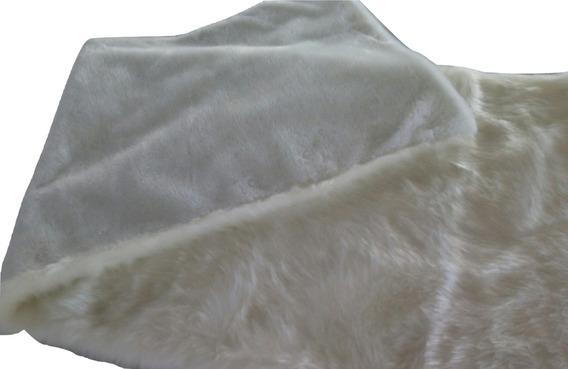 Manta Decorativa Pele Sintética 80x2,00 Conforto E Qualidade