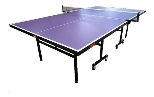 Mesa De Ping Pong Ap. Por Fed. Arg. De Tenis De Mesa T1015
