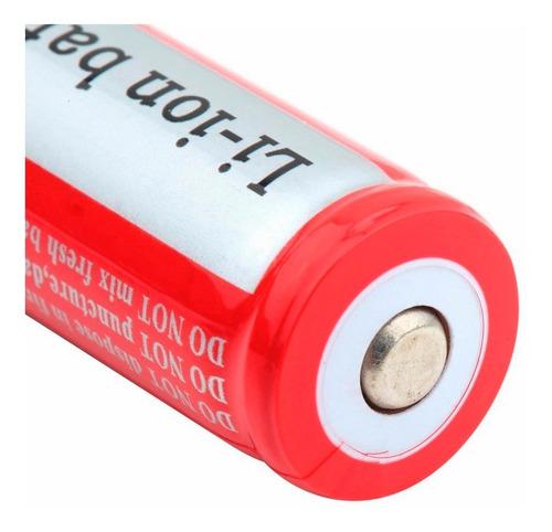 Imagen 1 de 4 de Bateria Pila 18650 Recargable Ultrafire Peso Real 41g High