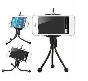 Mini Tripé Flexível Smartphone Celular Gopro Câmera Digital