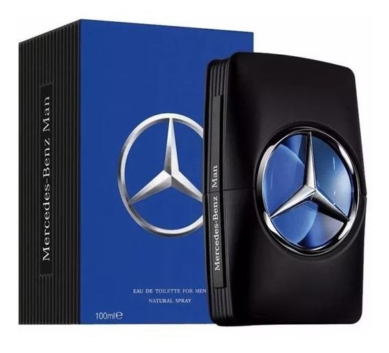 Perfume Mercedes Benz Man Edt Masculino 100ml Lacrado