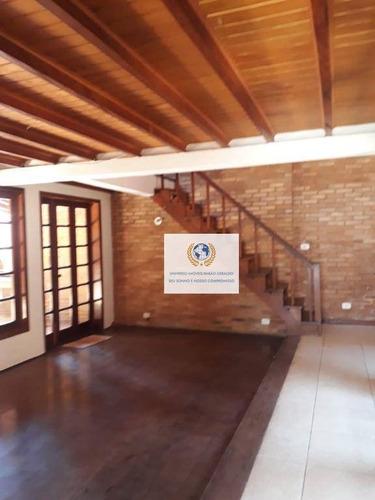 Casa Com 3 Dormitórios À Venda, 198 M² Por R$ 800.000,00 - Cidade Universitária - Campinas/sp - Ca1332