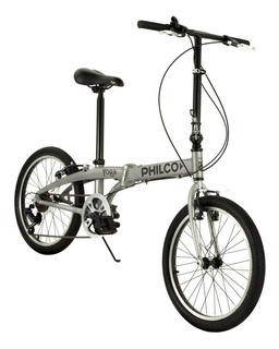 Bicicleta Plegable Rodado 20 Philco Yoga