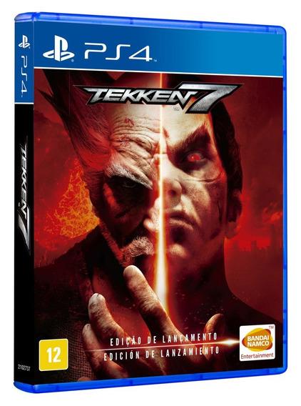 Tekken 7 Ps4 - Jogo Mídia Física Em Português