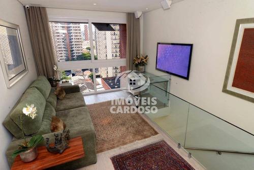 Imagem 1 de 20 de Apartamento Residencial À Venda, Pinheiros, São Paulo. - Ap0139