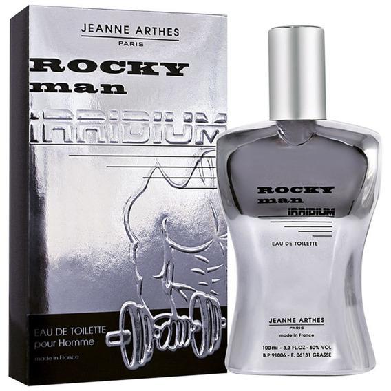Rocky Man Irridium Jeanne Arthes Edt-perfume Masculino 100ml