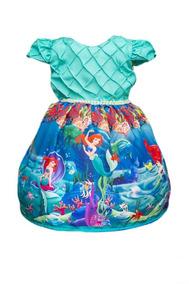 Vestido Da Princesa Ariel