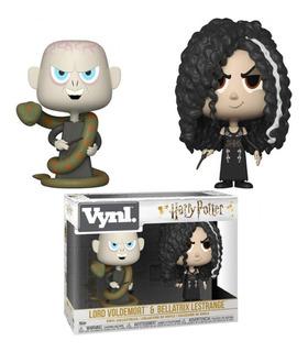 Funko Pop Harry Potter Lord Voldermort + Bellatrix Lestrange