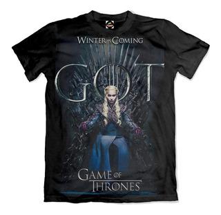 Camiseta Game Of Thrones Daenerys Winter Is Coming Ref 0025