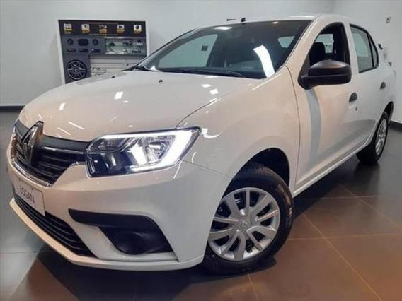 Renault Logan 1.0 Life 12v Flex Manual 4p 2019/2020 0km