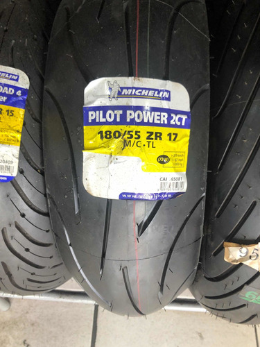 Imagem 1 de 1 de Pneu 180/55=17 Michelin Pilot Power 2 Ct
