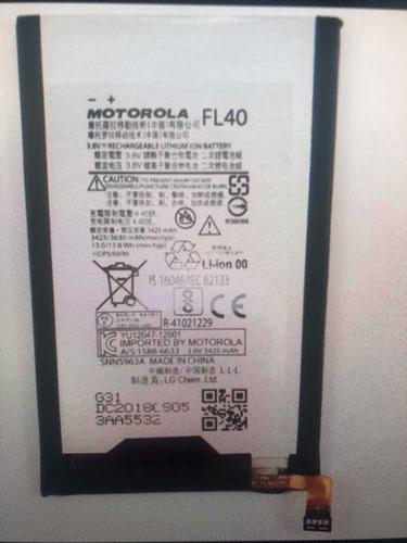 Batería Motorola X Play Fl40 3425mah