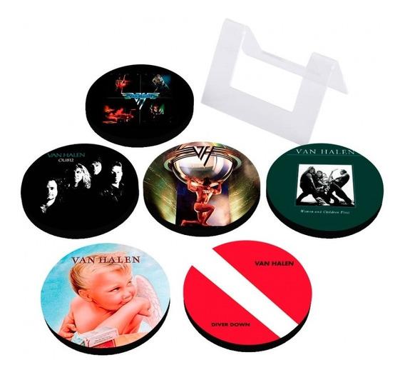 Porta Copos Em Mdf Van Halen Albums Artgeek