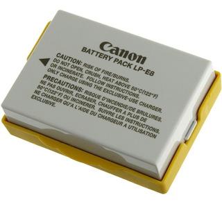 Bateria Original Canon Lp-e8 P/ T2i T3i T4i T5i Ramos Mejia