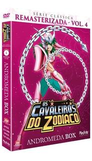 Box Dvd Cavaleiros Do Zodíaco Vol 4 Andromeda Serie Classica
