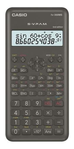 Calculadora Cientifica Casio Fx-350ms Relojesymas