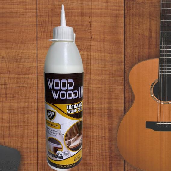 Cola Wood Wood 3 Especial Luthieria Marcenaria Atóxica 497g