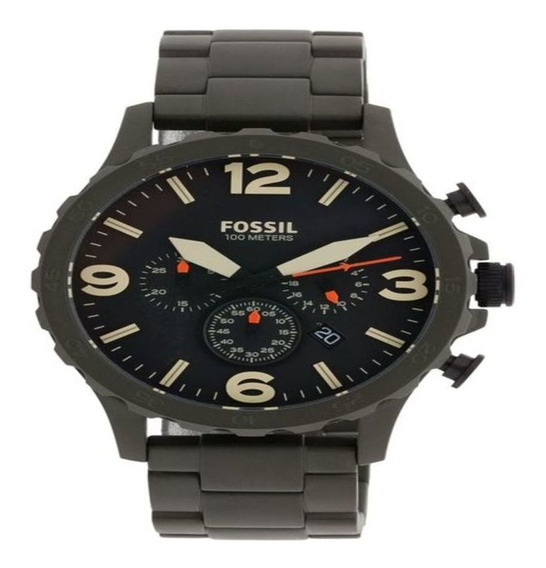 Relógio Fóssil Masculino Nate Esportivo Verde Jr1488/1pn
