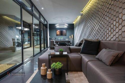Apartamento Com 3 Dormitórios À Venda, 83 M² Por R$ 1.680.000,00 - Vila Olímpia - São Paulo/sp - Ap2008
