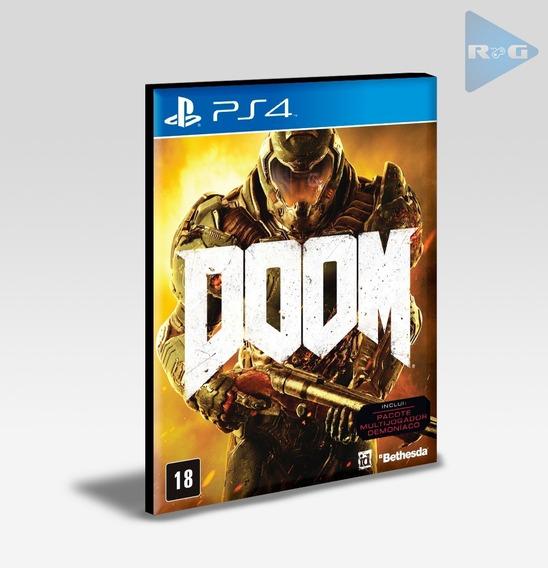 Doom Ps4 - Envio Agora