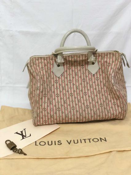 Bolsa Louis Vuitton Speedy 30 Mlin Rosa