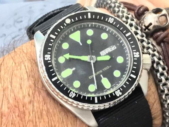 Seiko Diver Wr150m 7548-7000 Quartz Japan Customizado