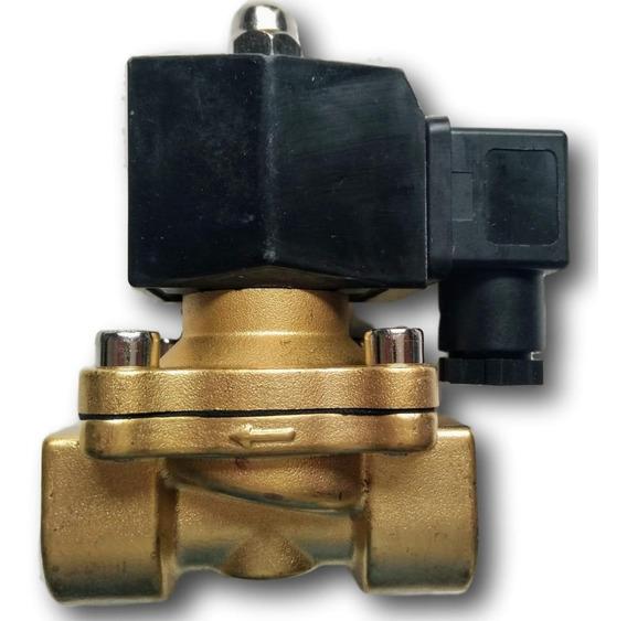 Válvula Solenoide 1 Polegada Nf Até 80° 2/2 Água/óleo/ar 220