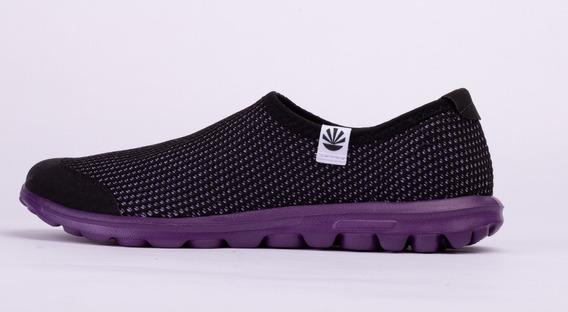 Zapatillas Kioshi Sempai Negro Violeta