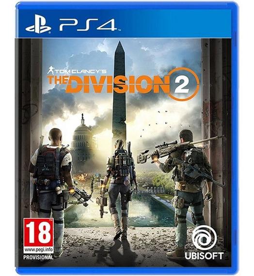 Jogo The Division 2 Ps4 Playstation 4 Disco Fisico Novo Dublado Barato