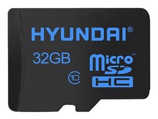 Memoria Micro Sd 32 Gb Flash 3d Sdhc Cl10 U1 Hyundai