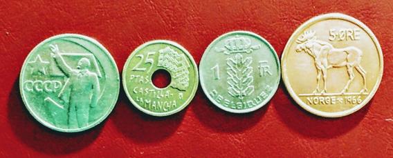 Monedas De Europa 17 Noruega Y Otros Países