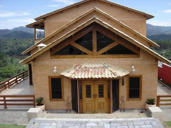 Casa Com 4 Dormitórios À Venda, 380 M² Por R$ 2.000.000 - Reserva Ibirapitanga - Santa Isabel/sp - Ca1002
