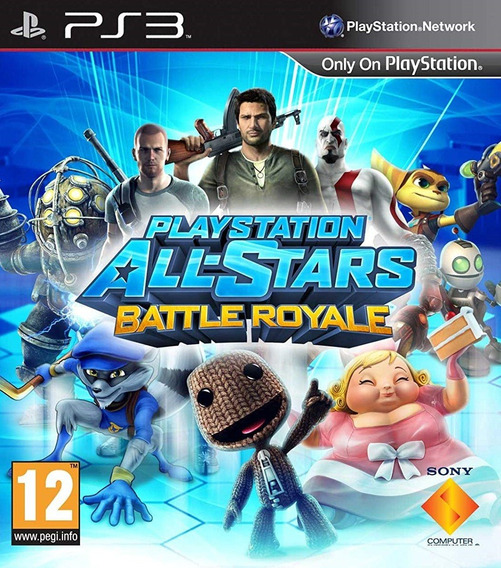 Playstation All-stars Battle Royale - Psn Ps3