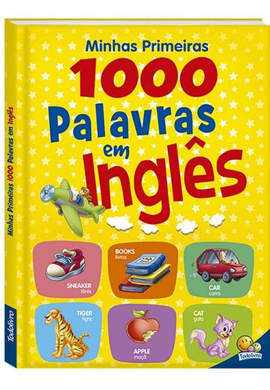 Livro Minhas Primeiras 1.000 Palavras Em Inglês