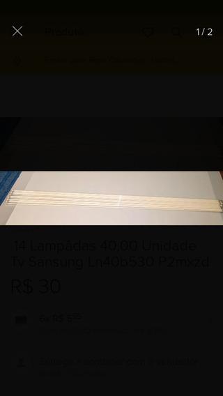 Lâmpadas Tv Sony Klv- 40sl50a 40,00 Unidades