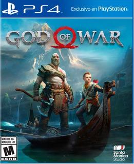 God Of War 4 Gow 2018 Código Digital Original Canjeable Ps4