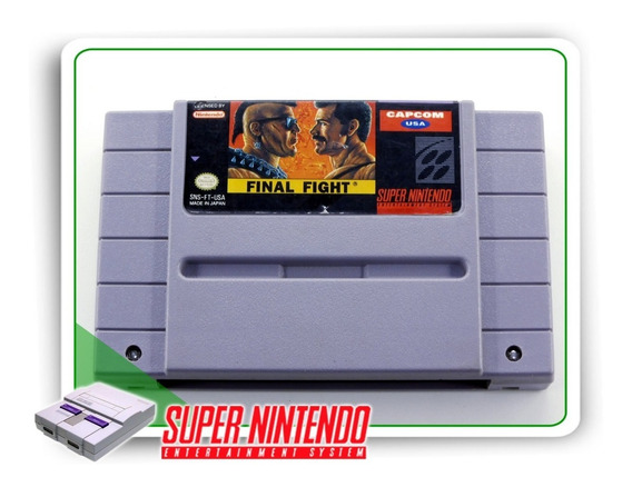 Final Fight Original Super Nintendo Snes
