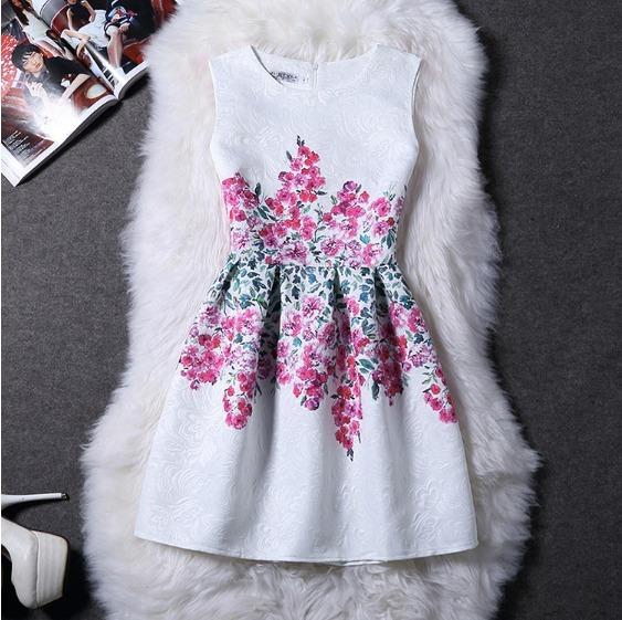 Vestido Corto Mujer Elegante En Algodon Vestido Para Fiesta