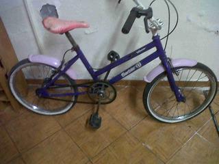 Bicicleta Nena Rodado 16 Barbie