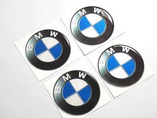 Adesivos Emblema Resinado Roda Bmw 40mm Cl4 Fgc