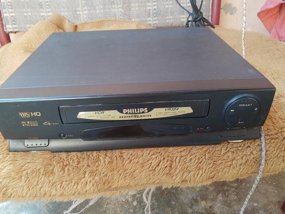 Vídeo Cassete Philips 4 Cabeças