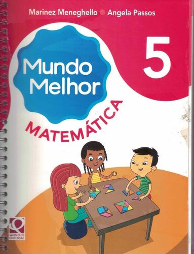 Livro Mundo Melhor Matemática 5º Ano