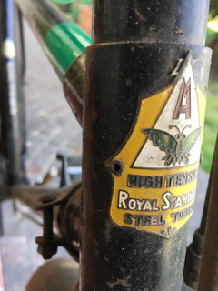 Bicicleta Inglesa Real 28 Circa 1945