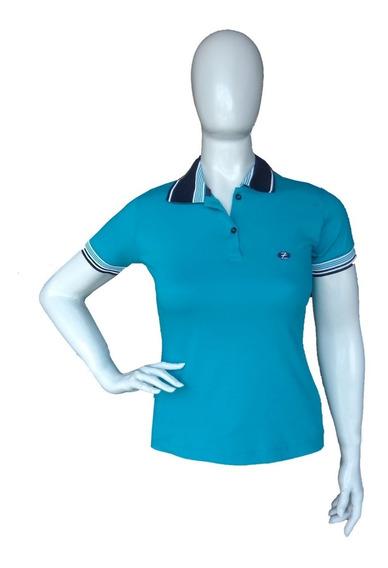 Camiseta Polo Feminina Acinturada Roupas Femininas Zambelê