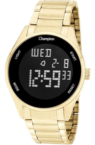Relógio Champion Feminino Ch40231h Digital Dourado