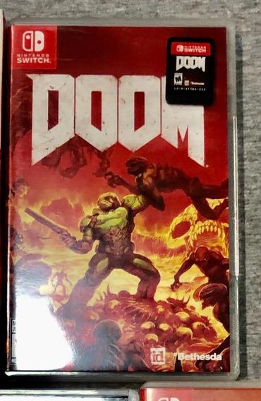 Doom - Switch - Mídia Física