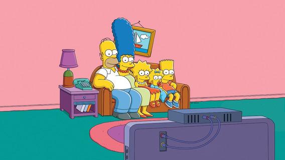 Fundo Fotográfico Tecido Os Simpsons 3,00m X 1,70m