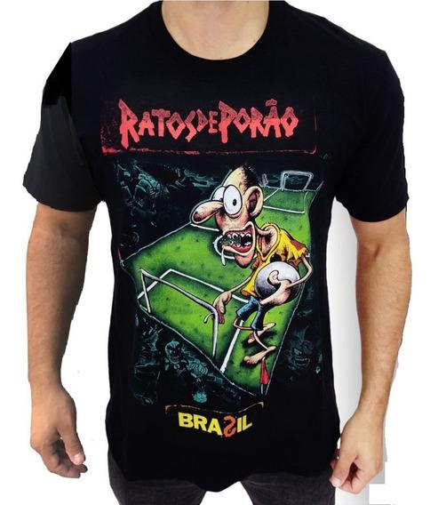 Camiseta Ratos De Porão E797 Consulado Do Rock Camisa Banda
